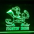 B-311 NOTRE DAME FIGHTING IRISH LOGO TEAM ACC BAR PUB CLUB NEON 3D Light LED