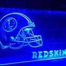 B-208 Washington Redskins Helmet Bar LED Neon Light Signs