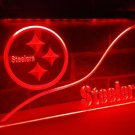 b-242 Pittsburgh Steelers LED Neon Light Sign home decor crafts