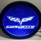 b-257 Chevrolet corvette RGB led MultiColor wireless control beer bar pub club neon light sign