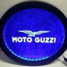 MOTO GUZZI RGB led MultiColor wireless control beer bar pub club neon light sign