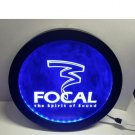 Focal Audio Speaker Theater RGB led MultiColor wireless control beer bar pub club neon light sign