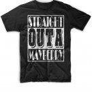 Black Men Tshirt Straight Outta Mayberry Black Tshirt For Men