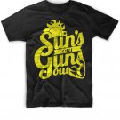 Black Men Tshirt Suns out, guns out shirt! Summer Black Tshirt For Men