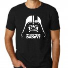 Black Men Tshirt Who's Your Daddy, Star Wars t-shirt Black Tshirt For Men