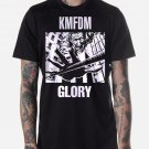Black Men Tshirt KMFDM MORE & GLORY Black Tshirt For Men