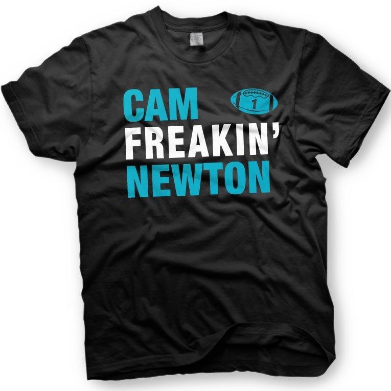 Black Men Tshirt Cam Newton - Carolina Panthers Black Tshirt For Men