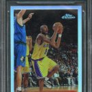 1996-97 KOBE BRYANT TOPPS CHROME REFRACTOR RC ROOKIE Card #138 BGS 9.5 GEM MINT