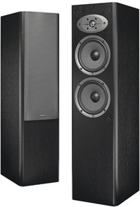 "CELESTION F28BL Dual 6.5"" 2-Way Tower Speaker (Black)"