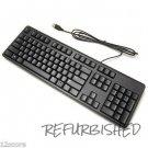 Used Dell 4G481 Black USB 104-Key QuietKey Keyboard KB212-B SK-8120