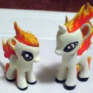 Ponyta and Rapidash Custom Figure Set