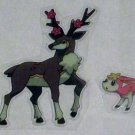 Deerling and Sawsbuck - Clear Stickers