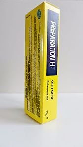 Preparation H Ointment Cream Contains Yeast Cell Extract (Bio-Dyne) & Shark oil