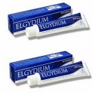 Elgydium Anti-plaque Toothpaste Jumbo 2 x 100ML  NEW  ANTIBACTERIAL