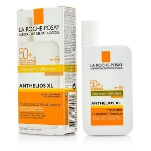 La Roche Posay ANTHELIOS XL SPF 50 TINTED face sunscreen Ultra Light FLUID