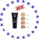 VICHY DERMABLEND  #NEW#  CORRECTIVE FOUNDATION 15 25 35 45 OPAL NUDE SAND GOLD