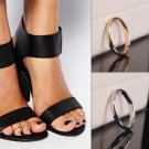 Fashion Gold/Silver Toe Ring Foot Beach Jewelry Ring Toe Adjustable Open Jewelry