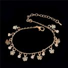 Women Butterfly bowknot Gold Plated Anklet Chain Ankle Bracelet Anklets Jewelry