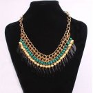 USA New Fashion Charm Jewelry Pendant Chain Choker Chunky Statement Bib Necklace