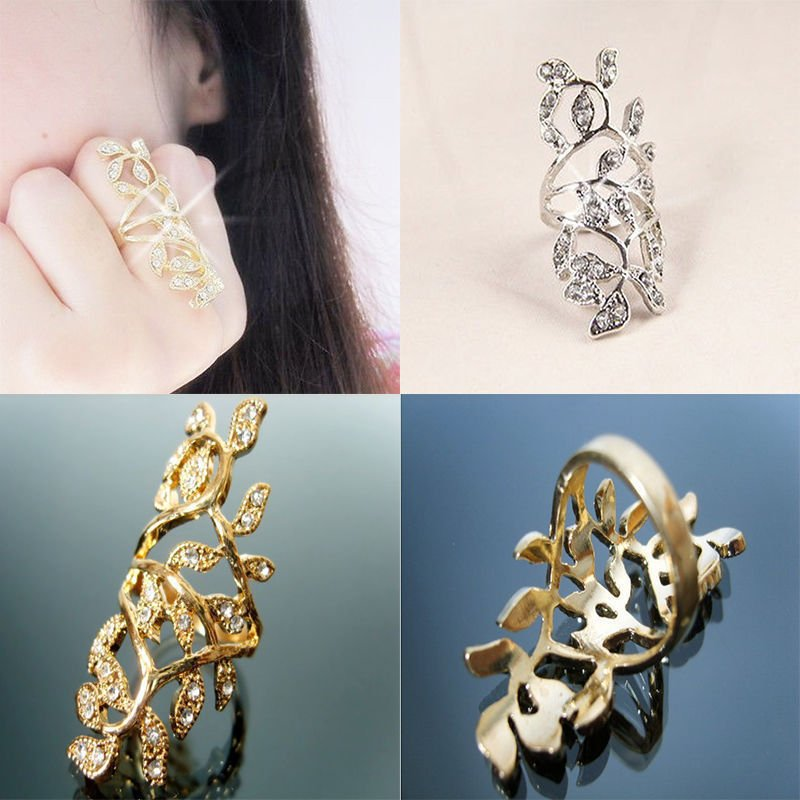 USA Women Ring Brief Designed Rings Nice Branch Shaped Finger Ring Elegant Ring