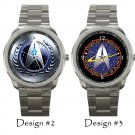 Star Trek Wristwatch Sport Unisex Stainless Steel Beyond Expectation