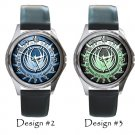 Battlestar Galactica Wristwatches Unisex Metal Leather Band