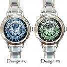 Battlestar Galactica Watches BSG Costume Italian Charm Wristwatches
