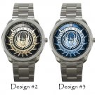 Battlestar Galactica Wristwatch Unisex BSG Costume Sport Metal Watch