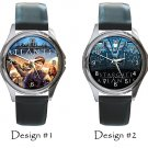 Stargate Atlantis Wristwatches Metal Leather Band Unisex Costume