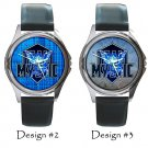 Team Mystic Pokemon Go Wristwatches Costume Metal Leather Band Watch