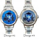 Team Mystic Pokemon Go Watches Costume Italian Charm Wristwatches
