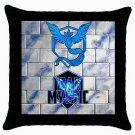 Team Mystic Pokemon Go Throw Pillow Case Cotton Birthday Gift Ideas #1