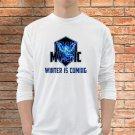 Team Mystic T-Shirts Men White Long Sleeve Pokemon Go Clothing S - 2XL