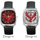 Team Valor Pokemon Go Wristwatches Costume Square Metal Watch