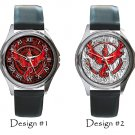 Team Valor Pokemon Go Wristwatches Costume Metal Leather Band Watch