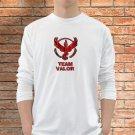 Team Valor T-Shirts Men White Long Sleeve Pokemon Go Clothing