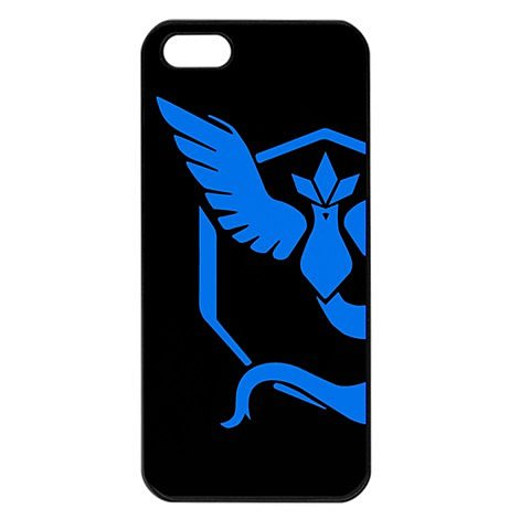 Team Mystic iPhone 5 Black Seamless Case Pokemon Go #2