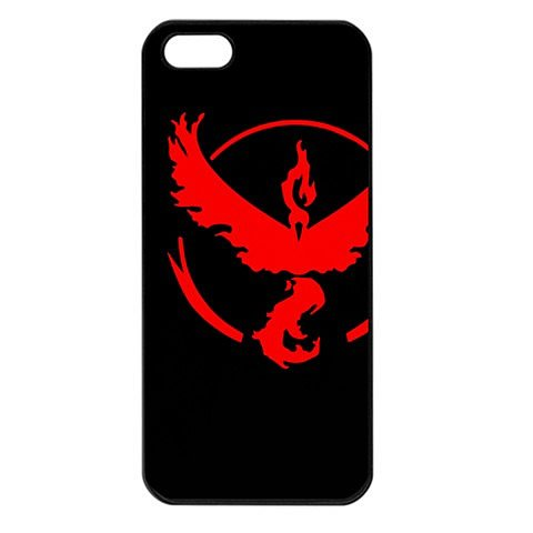 Team Valor iPhone 5 Black Seamless Case Pokemon Go #2