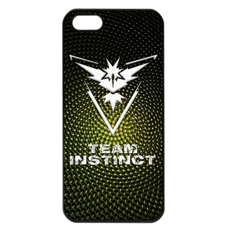 Team Instinct iPhone 5 Black Seamless Case Pokemon Go #1