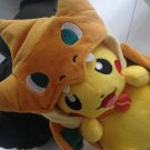 Pokemon Pikachu Plush Soft Toys Mega Charizard Charmeleon Charmander