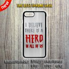 Spiderman Quotes Apple iPhone 7 / 7 Plus 6/6S 5/5C 4/4S Case Cover