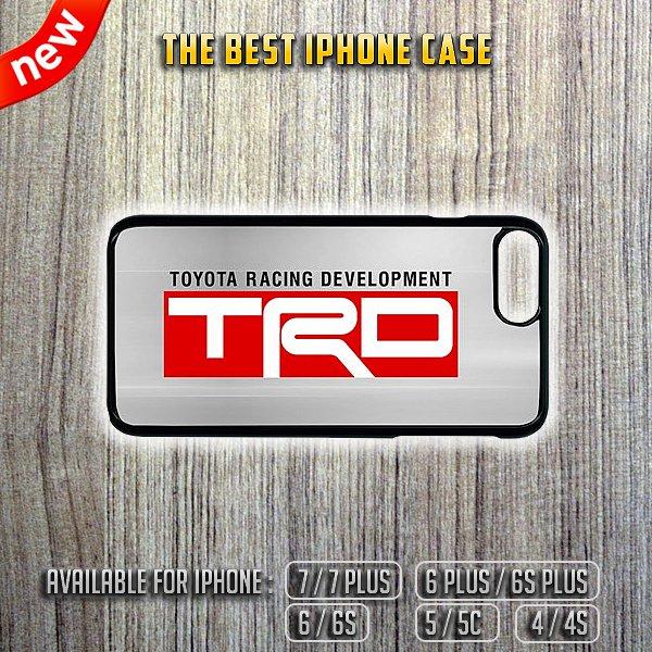 TRD Toyota Racing Development iPhone 7/7 Plus 6/6S 5/5C 4/4S Case