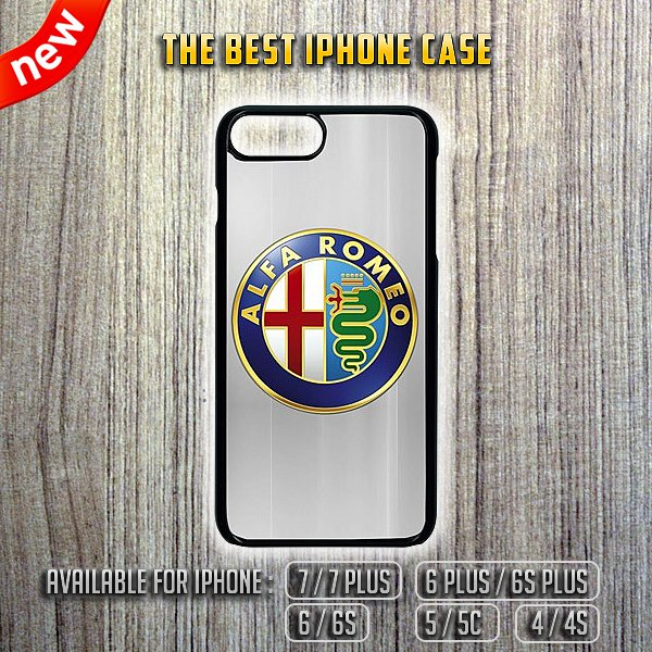Alfa Romeo Logo Luxury iPhone 7/7 Plus 6/6S 5/5C 4/4S Case