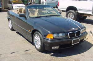 1999 BMW 328I CONVERTIBLE