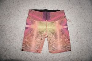 Victoria's Secret printed sport short tight size M abstract print NWT