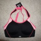 Victoria's Secret Sport Standout sport bra size 32D black with pink accents NWT