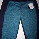 Reebok Women's Cold Weather Compression Space Dye Pattern Tights size XL NWT