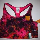 Champion for Target sport bra sz M reversible hot pink/hot pink yellow black NWT