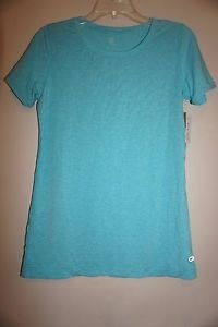 Gap Breathe scoop neck top short sleeve turquoise color size S NWT