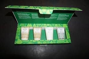 Origins travel size set ginger burst/smoothing souffle/salt suds 1.7 oz X 4 new